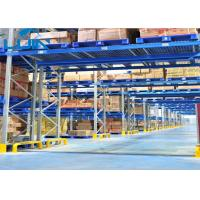 Wholesale Workshop Pallet Racking Systems , Bridge Type Heavy Duty Storage Shelves from china suppliers
