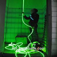 Wholesale Neon el light safety rescue rope  for firefighting,rescue rope, bule green,5mm from china suppliers