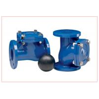 Wholesale 12 Inch Vertical Ball Check Valve With Epoxy Powder Coating DN15 - DN300 from china suppliers