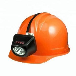 China Underground Mining Cap Lamps , IP68 Waterproof Coal Miner Hard Hat Light on sale