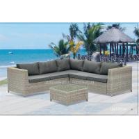 Wholesale Comfortable Patio Outdoor Wicker Furniture , Waterproof Rattan Garden Furniture Sets from china suppliers
