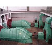 Quality Low Water Head S Type Hydro Turbine / water turbine with Full Regulation Runner, Speed Governor for sale
