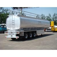 Wholesale CIMC 40cbm oil tanker truck trailer sales kenya with tool box from china suppliers