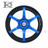 Wholesale Six Spoke TR37 Replica Custom Concave Wheels , 4X4 18 Inch Alloy Wheels from china suppliers