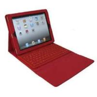 Wholesale Red 2.0 wireless Bluetooth Keyboard + Protective Case for ipad3 for lady from china suppliers