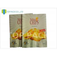 Wholesale Matte Surface Laminated Foil Pouches Back Seal Potato Chips Packaging from china suppliers