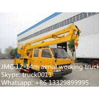 Wholesale hot sale JMC 12m-14m aerial working platform truck, JMC overhead working truck for sale from china suppliers