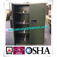Fireproof Gun Storage Industrial Safety Cabinets , Gun Powder Storage Flame Proof Storage Cabinets