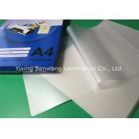 Wholesale 250micron 10mil  Pouch Laminating Film Glossy Lamination For Office Files from china suppliers