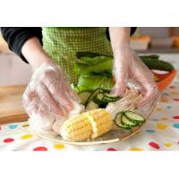 Wholesale HDPE Clear Plastic Gloves For Food Handling , High Density Pe Disposable Gloves from china suppliers