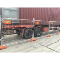 Wholesale temporary fencing panels for au 2.1m x 3.0 fencing panels od 32 mm pipes and 4.00mm wire from china suppliers