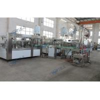Quality Monoblock Drinking Water Filling Machine , Washing Filling and Sealing 3 in 1 for sale