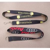 Wholesale wholesale polyester heat transfer flat lanyards, China factory sublimation neck lanyards from china suppliers