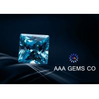 Wholesale Custom 5mm Lab Created Moissanite Blue Color Cutting Perfect from china suppliers