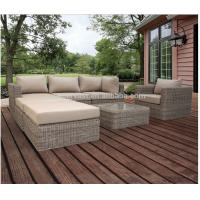 Wholesale UV Resistant Contemporary Patio Sectional Sofa , Outdoor Patio Sectional Furniture from china suppliers