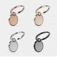 Wholesale Exquisite 360 Degree Rotating Cellphone Round Ring Holder with Magnetic Catch Piece Inside and Gorgeous Laser Etching P from china suppliers