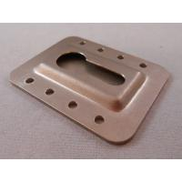 Wholesale Chromate Plated Custom Metal Stampings , Sheet Metal Press Parts OEM Services from china suppliers