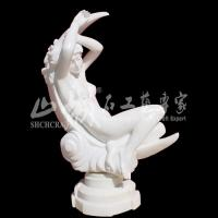 Wholesale Natural Stone(Marble) Western Lady Sculpture/Statue from china suppliers