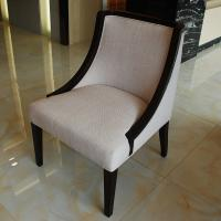 Wholesale Contemporary Luxury Dining Room Furniture Wood Frame Fabric Accent Chair from china suppliers