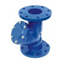 Wholesale 6 Inch Pressure Y Type Strainers , Cast Iron Flanged Water Y Strainer from china suppliers