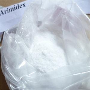Quality 120511-73-1 Oral Anabolic Steroids Anastrozole / Arimidex  White Powder Anastrozole for sale