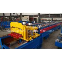 Wholesale Metal Roof Glazed Tile Cold Roll Forming Machine With 5T Manual Decoiler from china suppliers