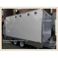 Quality 3.9mx2.1m GRP High Quality Food Concession Trailers mobile kitchen for sale