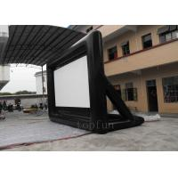 Wholesale Portable Outdoor Inflatable Projection Screen 0.55 PVC Tarpaulin For Billboard Advertising from china suppliers