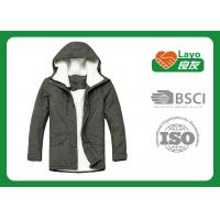 Wholesale Grey Color Warm Padded Jacket , Down Winter Jackets For Women from china suppliers