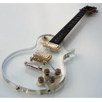 Wholesale Galveston Clear Acrylic LP Electric Guitar from china suppliers