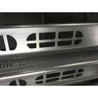 Wholesale Brush Anodized aluminum extruded shapes / Aluminum Extrusion Profiles for Electronics from china suppliers