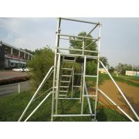 Wholesale Cold Formed Jointing System Scaffold Platform / High Tensile Aluminum Scaffolding TUV GS from china suppliers