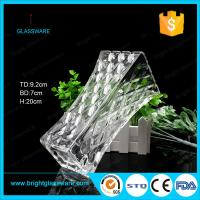 Wholesale Clear Square Glass Flower Vase, Crystal Vase Decorations from china suppliers