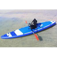 Wholesale 380cm Custom Paddle Boards SUP Sit On KAYAKA With 8 D Rings 2 Kayak Seats from china suppliers