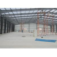 Buy cheap Space Durable Steel Warehouse Construction Environmental Friendly 40 Years Lifetime from wholesalers