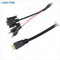 Wholesale Linsone hight quality 3ft RCA DVI cables from china suppliers
