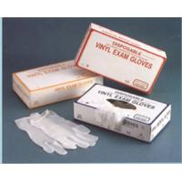 Wholesale Disposable CE ISO standard clear blue powdered powder free pvc vinyl gloves from china suppliers