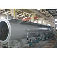 Wholesale 60 - 100kw 25 - 30m PVC Pipe Production Line , PVC Pipe Extruder Machine from china suppliers