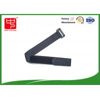 Wholesale Polyester / nylon webbing straps 230mm Length , lightweight nylon webbing for cable tidy from china suppliers