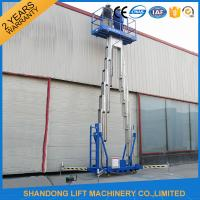 Wholesale 14m High Rise Window Cleaning Lift System , Aerial Wok Hydraulic Work Platform Lift  from china suppliers
