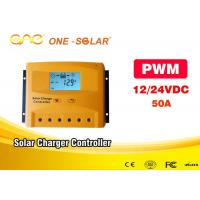 Wholesale LCD Display Solar Powered Inverter 12v / 24v 50A Smart Solar Controller from china suppliers