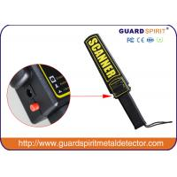 Wholesale Rechargeable Hand Held Metal Detector For Security Guards / Factory from china suppliers