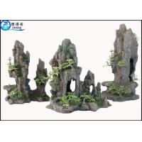 Wholesale Artificial Hill Decorative Aquarium Resin Ornaments For Indoor Fish Tank Decorations from china suppliers