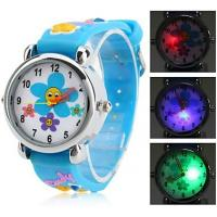 Wholesale Wrist Rainbow Childrens Digital Watches Silicone Strap for Christmas Day from china suppliers