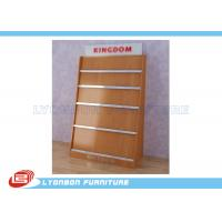 Wholesale Shop MDF Magazine Display Rack Milamine Finished , Countertop Display Rack from china suppliers