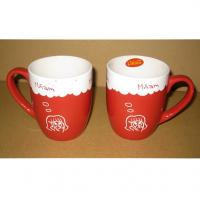 Wholesale Export 3505 ceramic  mug Certificate of authentication SGS/CE/ROHS custom LOGO coffee MUG mark cup from china suppliers