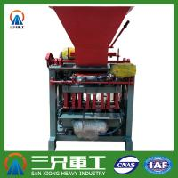 Wholesale Small Industries Use Automatic Cement Brick Molding Machine QTJ4-35 from china suppliers