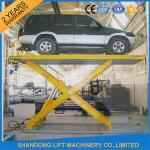 Wholesale Automotive Scissor Lift Equipment ,  Garage Hydraulic Scissor Car Lift Rentals from china suppliers
