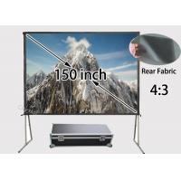 Wholesale Large Venue High Definition Projection Screen 150'' For Meeting Rooms / Entertainment Centers from china suppliers