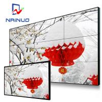 Wholesale 55 Inch 3.8mm Indoor Splicing Multi Screen Video Wall Lcd Media Display Monitors Wall Mount from china suppliers